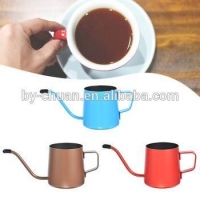 Household Drip Brew Fine Mouth Kettle gooseneck Stainless Steel Spout coffee drip pot Teapot