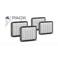 Dash/Deck Lights 4 Pack of Feniex Wide-Lux 9X7 Surface Mount Light