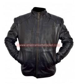 China Red 2 Bruce Willis Leather Jacket on sale