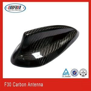 China BMW Car carbon fiber antenna cover shark fin antenna for bmw F30 on sale