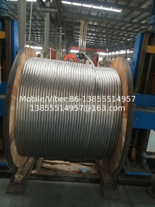 China Concentric-lay-stranded aluminum-clad steel conductors ACSR Conductor on sale