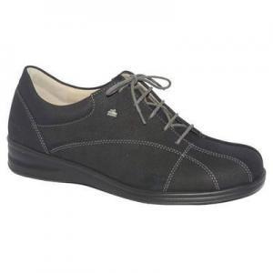 China Women's Footwear Finn Comfort Ariano Leather Black Shoe (3400-274099) on sale