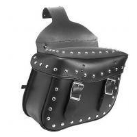 China Airnyx Studded Saddle Bag for Motorcycle Saddle Bags on sale