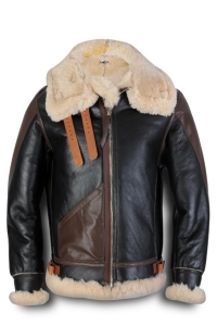 China Maynard B3 Shearling Flight Bomber Jacket on sale
