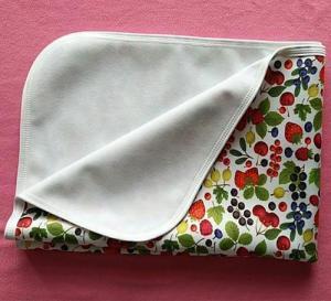 China Baby Waterproof Crib Sheet Baby Blanket on sale
