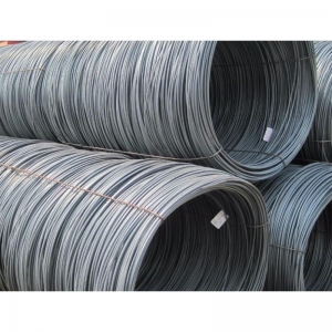 China hot rolled sae Q195 mild steel wire rod on sale