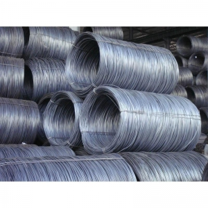 China Steel Carbon / Alloy Hot-rolled round wire rod on sale