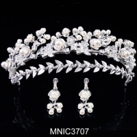 China Contemporary Collection Royal Tiaras Headband for Wedding Tiaras and Crowns Bridal Hair Accessory on sale