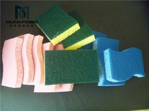 China SpongeSticks cellulose sponge with scourer pad on sale