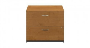 China 36W 2 Drawer Lateral File - Natural Cherry on sale
