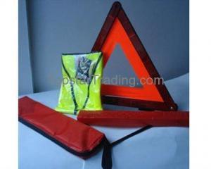 China 16090003 car triangle warning sign,safety warning triangle,reflective safety warning triangle on sale