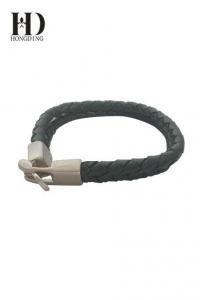 China Men's Leather Braided Bracelets on sale
