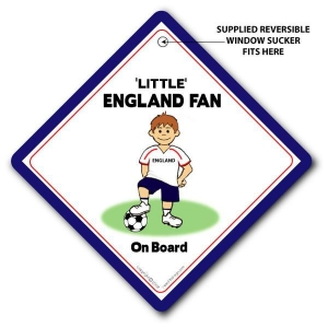 China Little England Fan on Board,World Cup 2010,Baby on Board Style Football Car Sign on sale