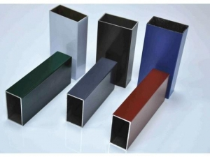 China Aluminium window Powder coating profile on sale