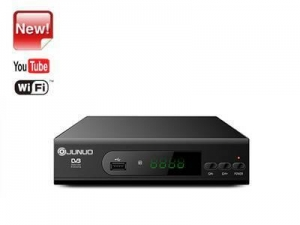 China Wholesale Junuo Hd Tv Receiver Manufacturer Digital Converter Tv Box With Youtube app on sale