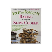 China Fix-It and Forget-It Baking with your Slow Cooker Cookbook 1bk on sale