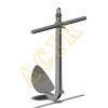 China Cast Steel Single Fluke Anchor for sale