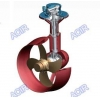 China 360 Degree Z Type Hydraulic Azimuth Thruster with Nozzle for sale
