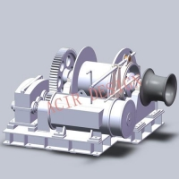 China Electric Hydraulic Diesel Operated Anchor Winch on sale