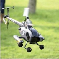2015 New HUNTING SKY Remote Control plane FX070C 2.4G 4CH 6-Axis Gyro Flybarless