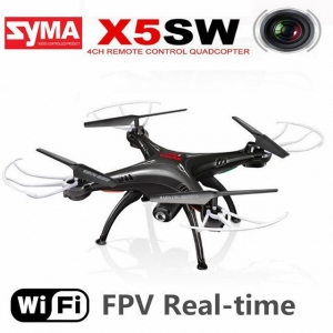 China Original SYMA X5SW WIFI RC Drone FPV Quadcopter with Camera Headless 6-Axis Real on sale