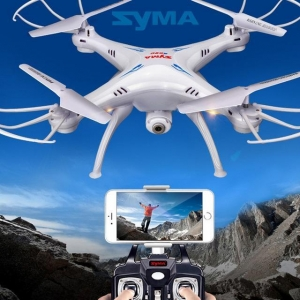 China SYMA X5SW Remote Control RC Helicopter Gyro Quadcopter Drone 2MP HD Camera 3D Ro on sale