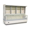 China Glass Door Freezer / Wall Site Combi Freezer for sale