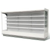China Double Air Curtain Multideck Display Cabinets for sale