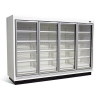 China Large Capacity Glass Door Freezer/ Glass Door Chiller for sale