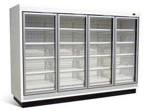 China Large Capacity Glass Door Freezer/ Glass Door Chiller on sale