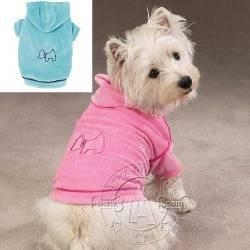 China Dog toys Irresistibly Soft Velour Luxury Couture Hoodies with Embroidery & Rhinestones on sale