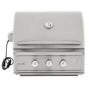 China Blaze Professional 27-Inch 2 Burner Built-In Gas Grill With Rear Infrared Burner on sale