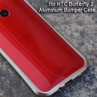 Bumper Case DEVILCASE Aluminum Bumper Case for HTC Butterfly 2