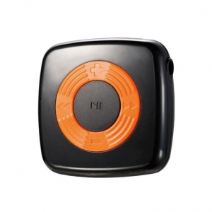 China Cube Shaped MINI Cute MP3 Music Player With Circle Operation Pad + 4GB TF Card+Earphones- Black on sale