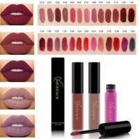 Cosmetics Matte Lipstick High Gloss Lip Make Up liquid lipstick Long Lasting Lip Gloss Nude