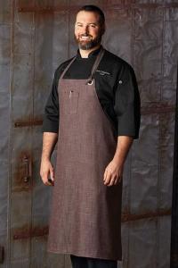 China Chef aprons Corvallis Urban Denim Chefs Apron CORVALLIS Urban Denim Chefs Bib Apron on sale