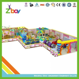 China indoor playground Kids Park Slide Design Indoor Plastic Play House Playground Equipment on sale