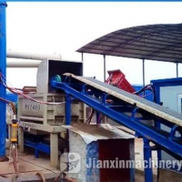China WBZ Stabilized Soil Batching Plant on sale