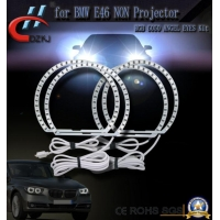 China E46 Non Projector RGB Halo Lights LED Ring Light Angel Eyes For BMW 131mm 146mm LED Marker on sale