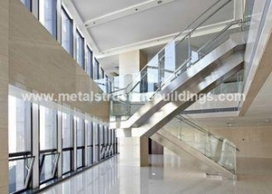 China CE certified red / muller steel building by S355 for Sudan market on sale