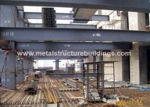 China Commercial Steel Frame Structure , Pre Engineered Mezzanine For Workshop on sale