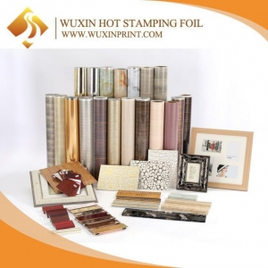 China PET Wood Pattern PS Photo Picture Frame Molding Hot Stamping Foil on sale