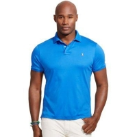 Polo Ralph Lauren Mens Big and Tall Pima Soft-Touch Polo Shirt