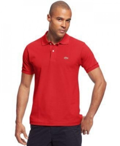 China Lacoste Classic Pique Polo Shirt on sale