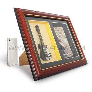 Quality Decorative photo frame with guitar and picture frame for dec Musical Instrument for sale