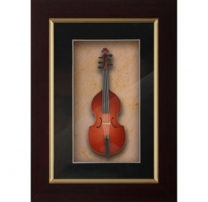 Quality Wholesale photo frame decorative frame handmade photo frame Musical Instrument for sale