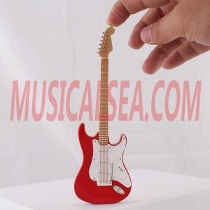 Quality Mini guitar toy mini musical instrument wooden decoration Musical Instrument for sale