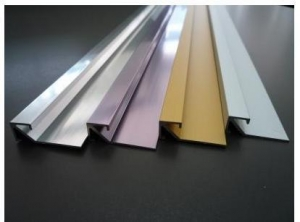 China Aluminium Straight Edge Trim on sale