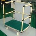 China Reusable Handcart for Warehouse Storage Lean Pipe on sale
