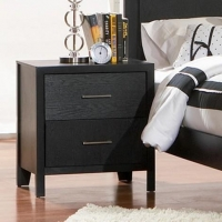 China 201652 Grove Contemporary Nightstand Bedroom Furniture on sale
